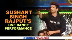 Sushant Singh Rajput's throwback dance video goes viral - gps