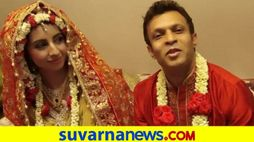 Sanjana mother clarifies about images circulated about wedding