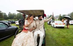 <p>drive in wedding</p>