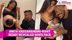 Anita Hassanandini-Rohit Reddy revealed their son's face in most cutest way: Watch the video - ank
