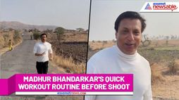 Filmmaker Madhur Bhandarkar jogs before shoot, giving Monday motivation - ank