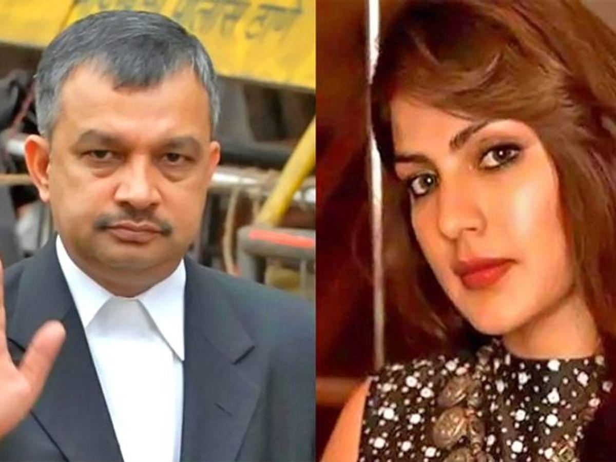 रिया के खिलाफ चार्जशीट पर बोले एक्ट्रेस के वकील, कहा- NCB का मकसद सिर्फ रिया को फंसाना | Rhea Chakraborty Advocate Satish Maneshinde Reaction On The Chargesheet Filed By NCB KPG