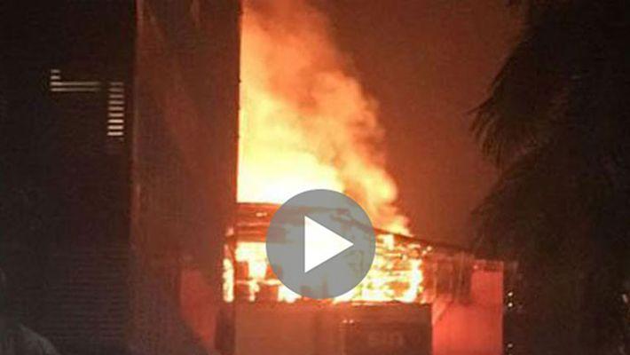 mumbai fire accident