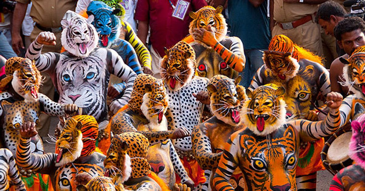 Be mesmerised by the charm and beat of the 'Tiger Dance'
