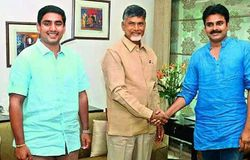 who are the 40 mlas pawan claims are in touch with him