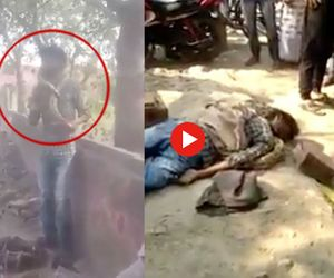 see how snake killed the man