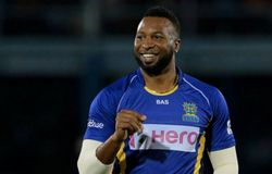 Kieron Pollard of St Kitts & Nevis in Caribbean Premier League