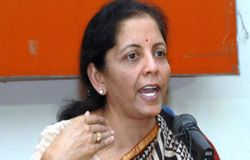 2 arrested for SMS about killing Nirmala Sitharaman