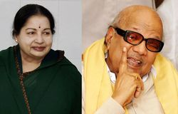 Jayalaitha and Karunanidhi