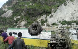 Road accident in Uttarakhand, bus Falls Into Valley